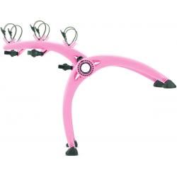 Βάση Ποδηλάτου Αυτοκινήτου Πόρτμπαγκάζ Saris Bones Χρώμα Ρόζ (3 Ποδήλατα) [Made in USA]